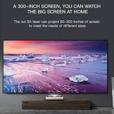 <b>JMGO SA Laser</b> Projector Screenless TV 2200 ANSI Lumens ...