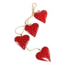 <b>Гирлянда подвесная EnjoyMe</b> Red Hearts, 4 шт. — купить в ...