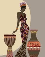 бокалы: лучшие изображения (88) | Africa art, African artwork и ...