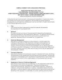 Best Photos of Research Proposal Format Example   Example Research
