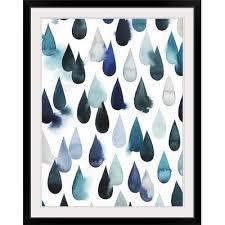 Great Big <b>Canvas Water Drops</b> I Grace Popp Graphic <b>Art</b> Print Size ...