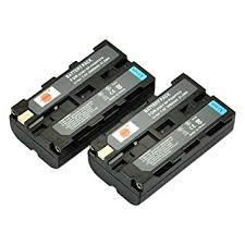 DSTE® 2pcs <b>NP</b>-F550 <b>Rechargeable Li</b>-<b>ion Battery</b> for Sony ...