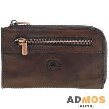 <b>Ключница Vintage</b>, <b>коричневая</b> оптом под нанесение , Арт ...