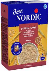 <b>Хлопья NordiC 5</b> видов зерновых 600 г (6411200106722) – купить ...
