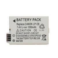 «<b>Аккумулятор lp</b>-<b>e8 для</b> canon eos 550d, 600d, 650d, 700d ...
