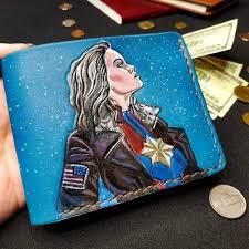<b>Кошелек Marvel</b> - Captain <b>Marvel</b> Star Custom [Handmade ...
