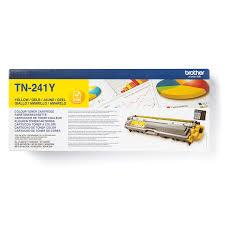 Оригинальный <b>тонер</b>-картридж <b>Brother TN</b>-<b>241Y</b> – Желтый