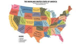 mainland usa according to common sense  dudeiwantthatcom  mainland usa according to common sense