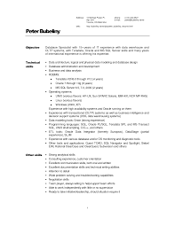 technical skills in resume examples