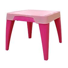 <b>Стол</b> детский <b>Little Angel</b> «Я расту», розовый, 60.5х60.5х50 см ...