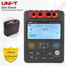 <b>UNI</b>-<b>T</b> UT511 Insulation Resistance Tester; 1000V megger, Data ...