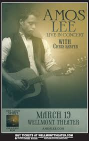 <b>Amos Lee</b> - - The Wellmont Theater