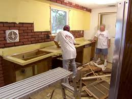 house tour diy kitchen remove old kitchen cabinets dten jpgrendhgtvcom remove old kitchen cab