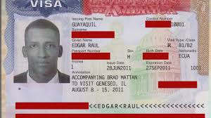 Image result for pictures of US visa