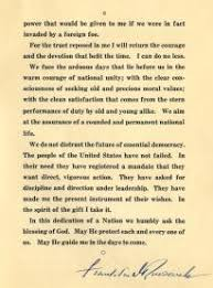 franklin d  roosevelt    s first inaugural address   the gilder    inaugural address of franklin d  roosevelt  march    glc