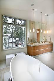 bathroom pendant lighting bathroom contemporary with cherry cabinets clerestory windows captivating bathroom vanity twin sink enlightened