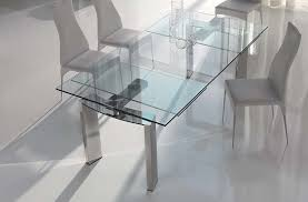 round glass extendable dining table: expandable glass dining room tables extendable dining table  extendable dining table furniture plans