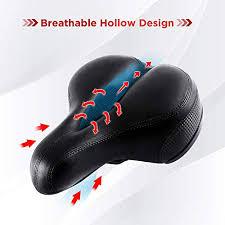 Comfort Wide <b>Bicycle Seat Saddle Shock Absorber</b> Mountain <b>Road</b> ...