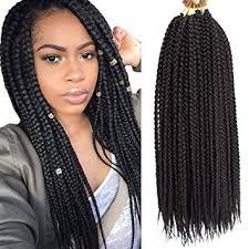 VRHOT 6Packs 18 inch Box <b>Braids</b> Crochet <b>Hair</b> Small <b>Synthetic</b> ...