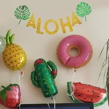 Flamingo <b>Summer Hawaii Party Decoration</b> Flamingo Party Balloons ...