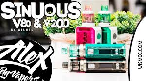 <b>SINUOUS</b> V80 & <b>V200</b> l by <b>Wismec</b> l Alex VapersMD review ...