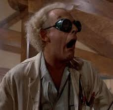 Image result for back to the future mad scientist