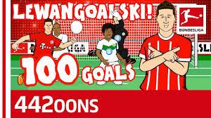 Lewandowski's 100th Goal for Bayern Song - Powered by 442oons ...