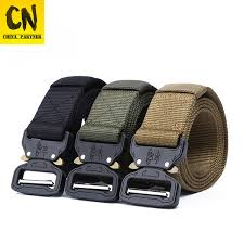 2019 <b>3.8cm</b> Tactical Belt Nylon Belt <b>Men</b> Army Style Belt <b>Metal</b> ...