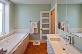 cork plank flooring bathroom minimalist