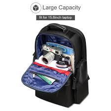 BOPAI Luxury Gift <b>Men</b> Backpack Waterproof USB Bagpack <b>Black</b> ...