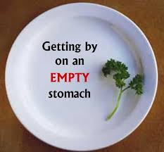 Image result for empty stomach