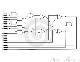 logic diagram royalty free stock photos   image    a schematic for a useless logic diagram
