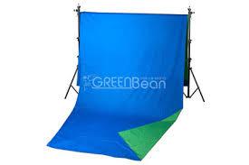 <b>Фон GreenBean Field</b> 2.4 х 7.0 B/G, зеленый / синий (<b>хромакей</b> ...