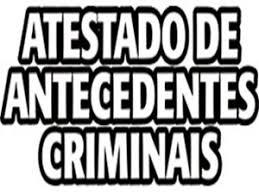 Resultado de imagem para certidão antecedentes criminais