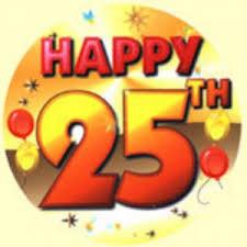 """Résultat de recherche d'images pour """"happy 25th birthday"""""""