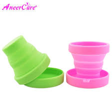50 pcs Period cup dical silicone soft valve menstrual cup ...