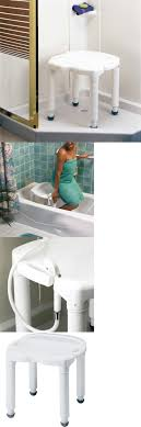 image quarter bamboo bathroom stool shower and bath seats backless bathtub bench  lbs adjustable chair universal bath tub shower