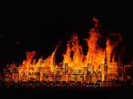 Image result for images of great fire 350