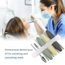 Dental 35mm <b>8Pcs</b> 2 Burs Resin HP Acrylic <b>Base</b> Tungsten ...