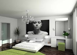 m modern contemporary bedroom furniture design with white interior theme and nice green rugs also luxury branched chandeliers plus powder room in the bedroom corner furniture