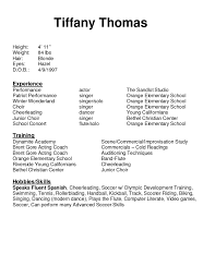 actor resume clowning and kristen wiig impressions resume gallery photos of beginner acting resume template