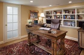 office lighting tips. view in gallery small basement home office design and decorating idea lighting tips n