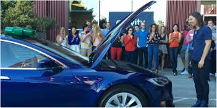 why did the employees gift their ceo tesla model s united states if you want to thank someone especially your boss what would you do you would probably say a thank you word to express your gratitude
