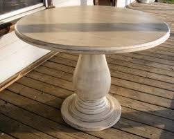 40 inch round pedestal dining table:  inch round pedestal table huge solid wood by thewoodworkman
