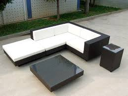 wicker rattan garden furniture contemporary black and white wicker outdoor furniture black and white patio furniture