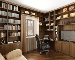 adorable home office design with small office desk corner plus leather swivel chair beside white transparent adorable home office desk