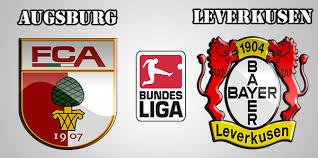 Image result for Augsburg vs Bayer Leverkusen logo