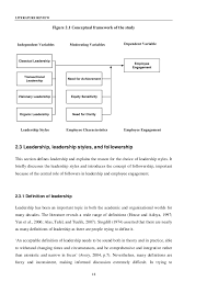 perceived leadership style and employee engagement LITERATURE REVIEW