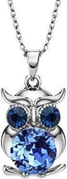 Neoglory Jewelry Vintage Owl Pendant Necklace ... - Amazon.com