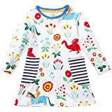 JUXINSU Toddler Girls Cotton Summer Short Sleeve ... - Amazon.com